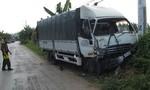 Đại úy cảnh sát giao thông hy sinh do tài xế xe tải ngủ gật