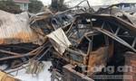 Trắng đêm dập lửa vụ cháy bãi đậu xe bồn chở xăng