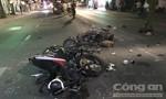 Xe máy đối đầu ở Sài Gòn, 2 người chết, 1 người trọng thương