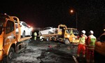 Tai nạn xe tải liên hoàn ở Trung Quốc, 15 người thiệt mạng