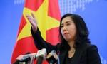 Phản đối Trung Quốc đưa vào sử dụng các trạm quan trắc ở Trường Sa