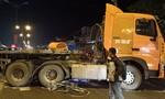 Xe container cuốn hai xe đạp, 1 học sinh tử vong, 2 em nguy kịch