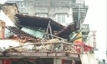 Cận cảnh đống đổ nát tiệm bánh 2 tầng sập trong đêm