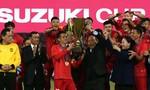 Khoảnh khắc nâng cao chiếc cup vô địch AFF cup