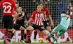 Thất bại trước Southampton, Arsenal đứt mạch bất bại