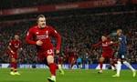Quật ngã Man Utd, Liverpool chiếm lại ngôi đầu