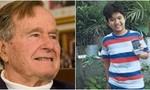 Cố tổng thống Bush âm thầm 'hỗ trợ' cậu bé nghèo suốt 10 năm
