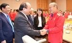 Thủ tướng gặp mặt, khen thưởng đội tuyển bóng đá Việt Nam