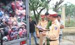 """CSGT Đà Nẵng bắt nhiều vụ vận chuyển hàng lậu """"khủng"""""""