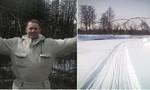Bé 3 tuổi đi bộ 3 km dưới cái lạnh -30 độ sau khi cha mất vì tai nạn