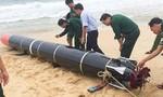 Vật thể được ngư dân phát hiện là ngư lôi bắn tập của nước ngoài
