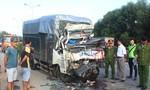 Ô tô tải tông đuôi xe đầu kéo, 2 người tử vong kẹt trong cabin