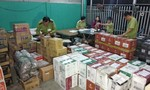 Xe tải chở hơn 3.000 chai rượu ngoại cùng hàng hóa không chứng từ