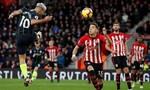 Đánh bại Southampton, Man City vươn lên vị trí thứ 2