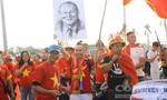 CĐV nhuộm đỏ Mỹ Đình cổ vũ tuyển Việt Nam