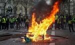 Cảnh sát Pháp đụng độ 1.500 người biểu tình tại khu trung tâm