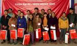 Nhiều công ty tại Đà Nẵng, Quảng Nam hỗ trợ người nghèo đón Tết