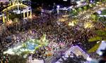 'Biển người' đổ về đường hoa Nguyễn Huệ thưởng ngoạn trong đêm khai mạc