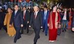 Tổng Bí thư Nguyễn Phú Trọng đến tượng đài Lý Thái Tổ dâng hương