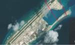 Trung Quốc đang cải tạo trái phép đá Chữ Thập thành trung tâm liên lạc trên Biển Đông