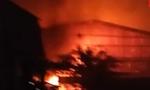 Cháy vựa thanh long, thiệt hại 4 tỷ đồng