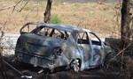 Tài xế taxi tẩm xăng đốt xe, tử vong cùng cháu bé 5 tuổi