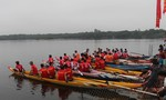 Đặc sắc lễ hội đua thuyền làng Phò Trạch