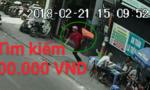 Việt kiều lên mạng cầu cứu vì bị cướp giật túi xách ở phố Tây