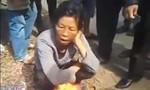Dân vây bắt một người nước ngoài vì nghi giở trò thôi miên