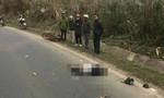 Xe tải hất văng xe máy, 2 người đi đám giỗ tử nạn thương tâm