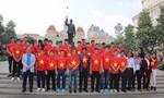 Đội tuyển U23 Việt Nam dâng hương tại Tượng đài Chủ tịch Hồ Chí Minh