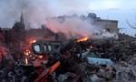 Nga không kích 'trả đũa' vụ tiêm kích Su-25 bị bắn rơi