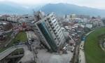 Cận ảnh hiện trường động đất kinh hoàng ở Đài Loan