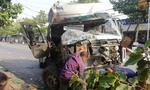 'Hung thần' tông bay xe tải, lao thẳng vào nhà dân