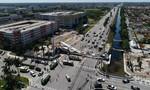 Sập cầu đi bộ mới xây tại Mỹ, ít nhất 4 người chết