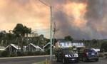 Vành đai lửa khổng lồ trong vụ cháy rừng khủng khiếp ở Úc