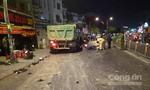 Bắt giam tài xế xe ben tông hàng loạt xe máy ở Sài Gòn
