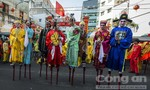 Những hình ảnh rực rỡ Tết Nguyên tiêu ở Sài Gòn