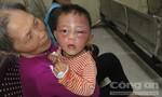 Bé trai hai tuổi chấn thương nặng nghi bị bạo hành