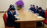 Lần đầu tiên ông Kim Jong Un ăn tối với phái đoàn cấp cao Hàn Quốc