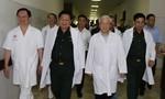 Tổng Bí thư Nguyễn Phú Trọng thăm hai nguyên lãnh đạo cấp cao