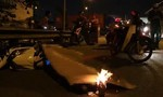 Ô tô cán chết người trong đêm ở Sài Gòn rồi bỏ trốn