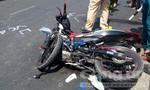 Xe máy đối đầu, 2 người chết, 2 người bị thương