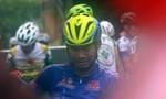Chặng 9 giải xe đạp truyền hình: Lê Nguyệt Minh bật khóc giành chiến thắng
