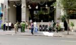 Người đàn ông ngoại quốc nghi rơi lầu khách sạn tử vong