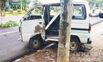 Ô tô mất lái tông vào trụ điện, tài xế tử vong tại chỗ