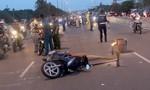 Nữ công nhân bị xe biển xanh cán tử vong sau va chạm với xe máy