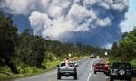 Núi lửa Hawaii 'nâng độ cao' cột tro bụi lên 9.000m