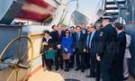 Đoàn Đại biểu TP.HCM thăm, tìm hiểu lịch sử Chiến hạm Rạng Đông