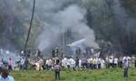 Máy bay chở khách rơi ở Cuba, hơn 100 người có thể đã chết